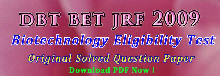 Tips to qualify DBT BET JRF Exam