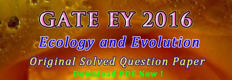 gate ey 2016 answer key