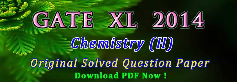 GATE XL Chemistry Questions Solved
