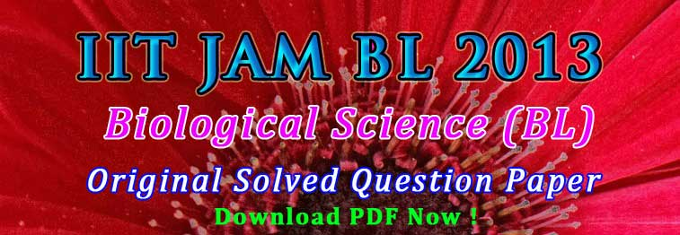 JAM BL 2017 Solved Question Paper