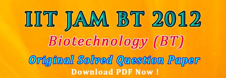 Tips to qualify IIT JAM BT