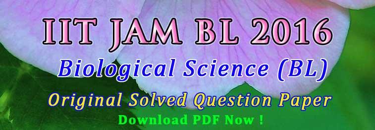 jam bl 2016 question paper answer key easybiologyclass