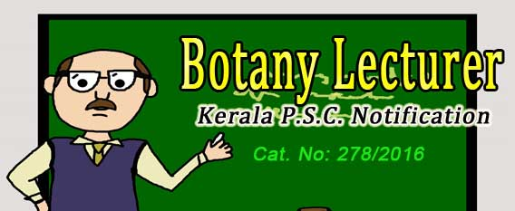lecture jobs in botany