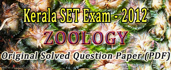 SET zoology question paper