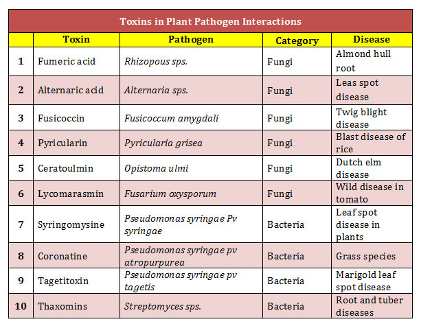 toxins in pathogenesis example