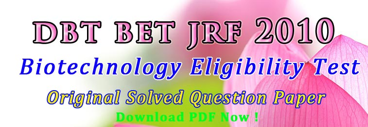 DBT BET Previous Questions
