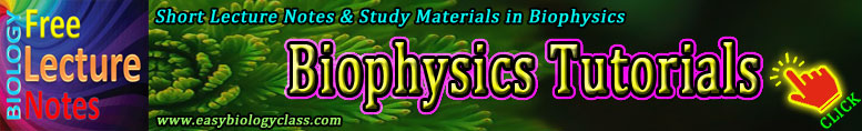 Biophysical Instrumentation Short Notes