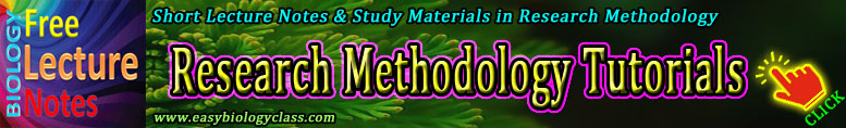 Research Methodology Short Notes