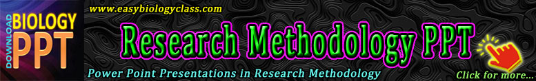 PPTs in Research Methodology