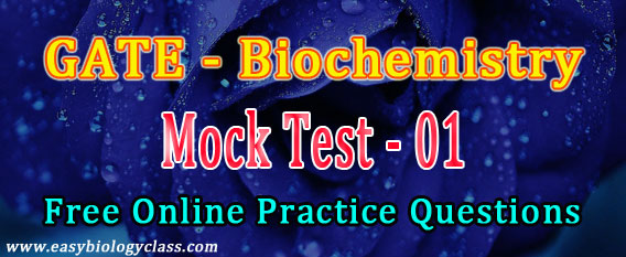 GATE XL Biochemistry Mock Test