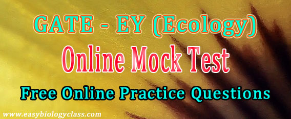 GATE Ecology Mock Test