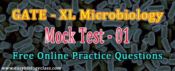 Microbiology GATE 2018 Model Questions