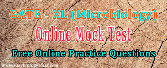 GATE Microbiology Mock Test