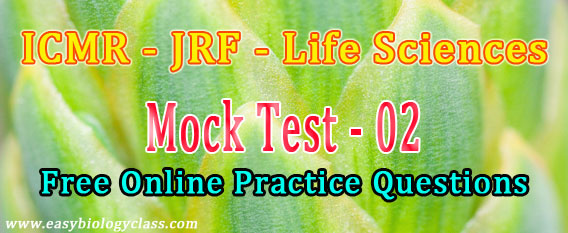 Life Science JRF in ICMR 2018