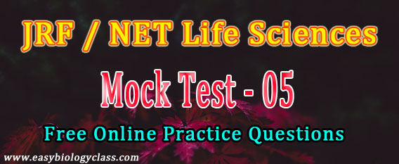 Life Science NET Dec 2017 Mock Test