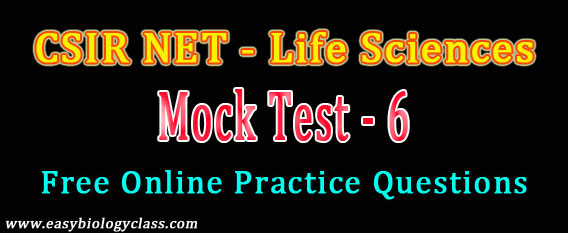 CSIR NET Mock Test Dec 2017
