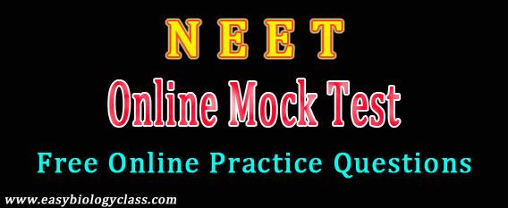 NEET Mock Test (Free Online) | easybiologyclass