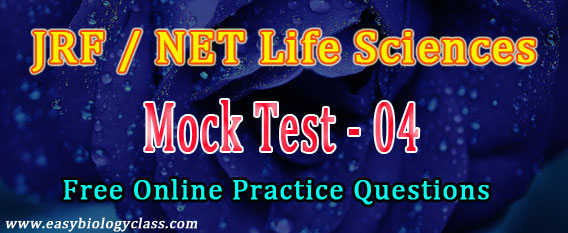 NET Life Science Dec 2017 Mock Test