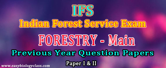 IFS Foresty Main Papers