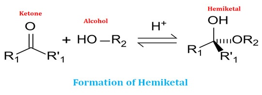 What is hemiketal