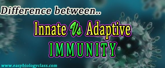 Compare Adaptive and Innate Immunity
