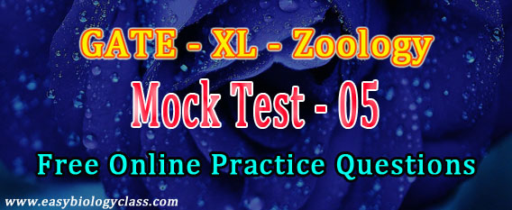 Zoology GATE Question Paper