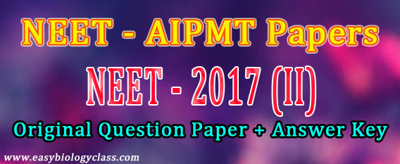 NEET Solved Question Paper