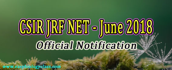 NET Life Sciences 2018 Notification