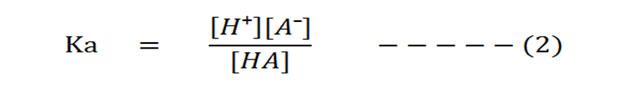 proton donor and proton acceptor