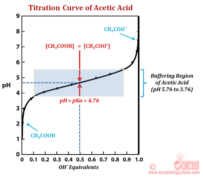 Buffer Action of Acetic Acid