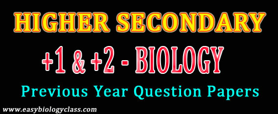 Tamil Nadu HSE Zoology Question Paper (Old) | easybiologyclass