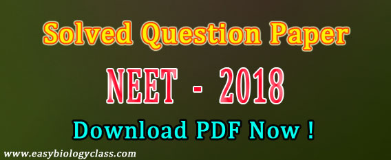 NEET 2018 Answer key