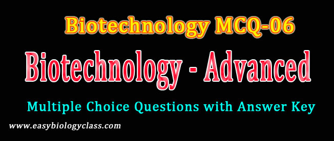 biotechnology questions for net examination