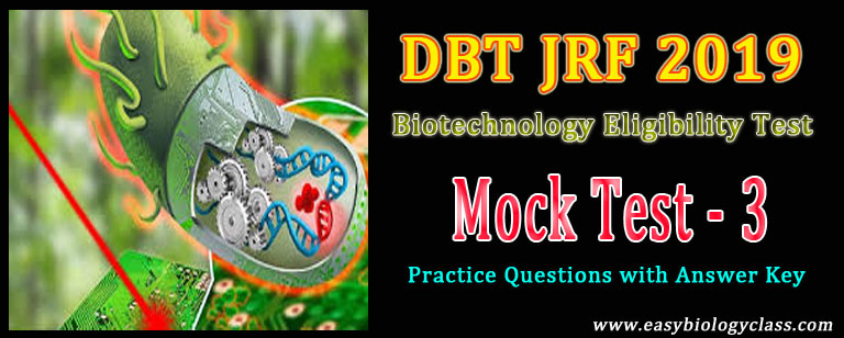biotechnology jrf mock test