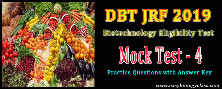 Biotechnology JRF 2019 Paper